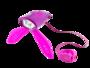 mini hornit paars en roze met stuur bediening