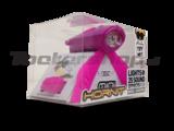 Mini Hornit in paarse en roze kleur