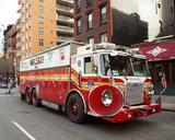 USA Fire Engine air horn. plaatsing luchthoorns