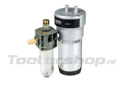 MC/4 FALG FIAMM compressor and lubricator