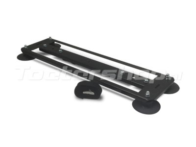 Roof rack automotive PA system front/end