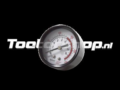 Manometer Hadley H14212S drukmeter voor lucht systeem